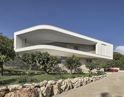 Villa la Madonne by Calvi Ceschia Vigano Architetti Ass