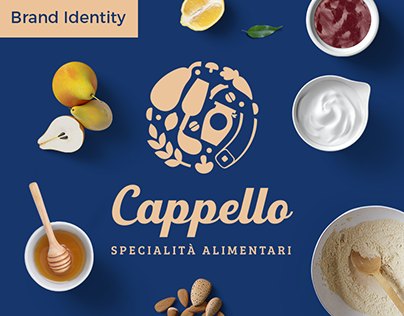 Cappello Specialty Food Brand identity design