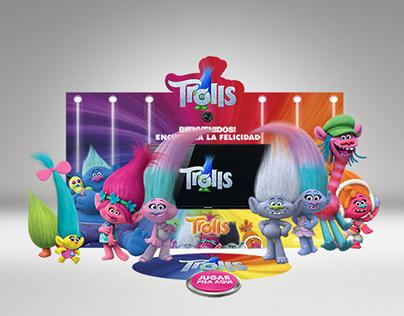 """Premiere de prensa para película """"Trolls"""""""