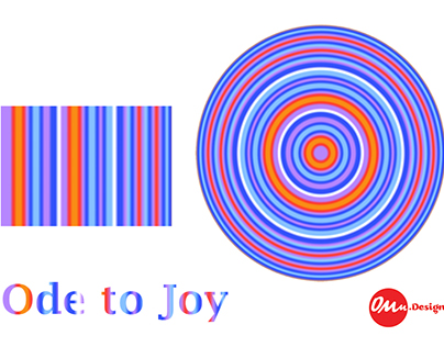 Ode to joy (with colours)