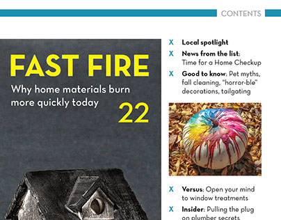 Angie's List Magazine + Other Print Projects