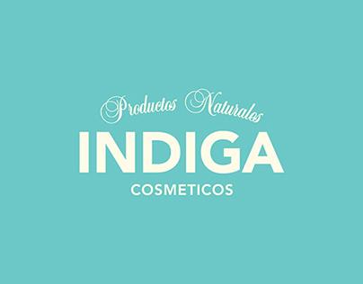 Indiga Comesticos | Id. Visual + Artes