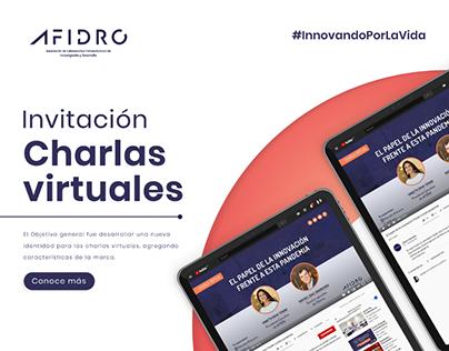 Invitación - Charla Virtual