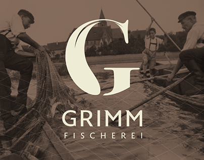 Fischerei Grimm - Branding