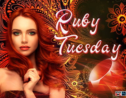 """""""Ruby Tuesday"""", second edit (text adaption, readable)"""