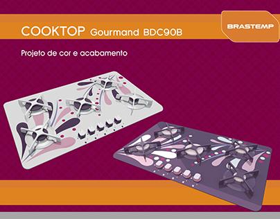 Cooktop Gourmand Brastemp | Projeto de cor e acabamento