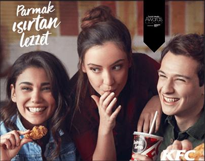 KFC-Parmak Isırtan Lezzet - Dijital Lansman