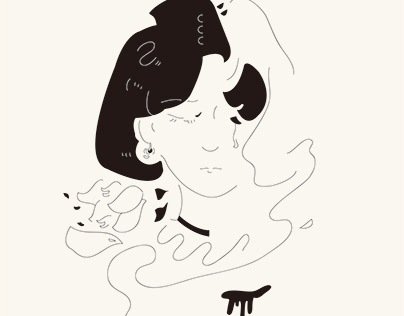 illustration design/線條簡約系列/