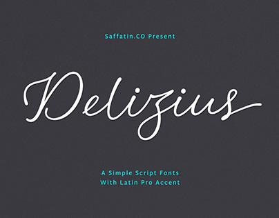 Delizius Script Latin Pro