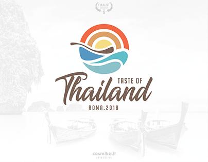 "LOGO DESIGN // ""Taste of Thailand"""
