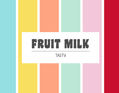 Fruit Milk Collection