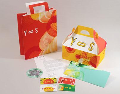 Restaurant Branding: YOS
