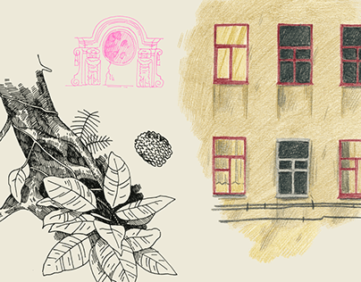 Sketches from Saint-Petersburg