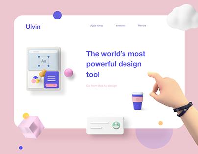 3D UI web inspiration