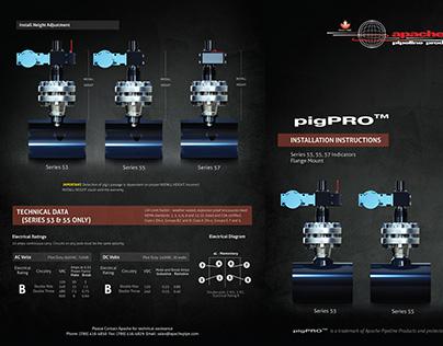 Apache Pipeline PigPRO Product Renderings