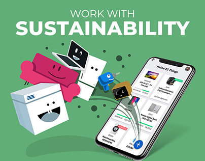 Mobile App launch for a greener world - thingsy