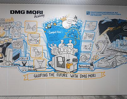 scibing mural / dmg mori