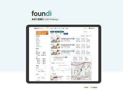 CMS Redesign foundi 系統介面優化