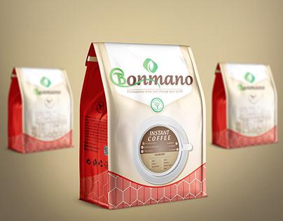 Bonmano coffee flexible Packaging Design