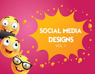 Social Media Designs Vol. 1