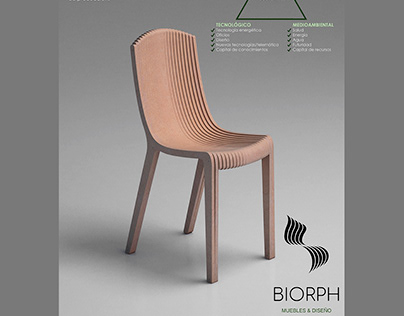 Graphic design project for BIORPH