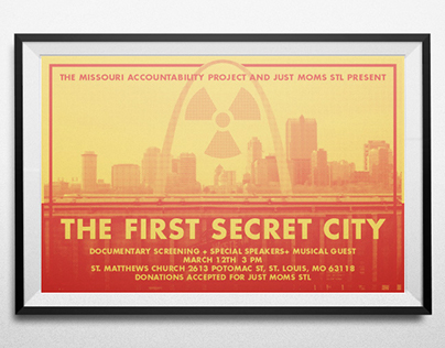 First Secret City Screening Poster