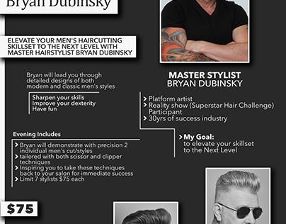 Hair Lessons (Advertising Flyer)