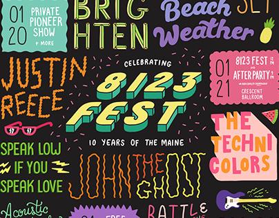 8123 Fest Poster