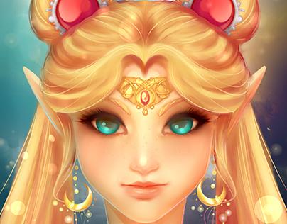 Elven Sailor Moon