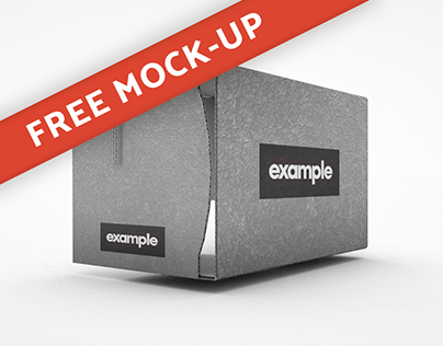 FREE Virtual Reality Cardboard Mock-up