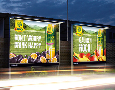 RAUCH // HappyDay Campaign / Relaunch