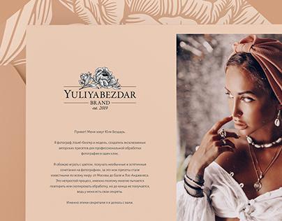 YULIYA BEZDAR Brand Identity Design