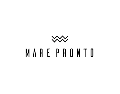 Mare Pronto. Branding