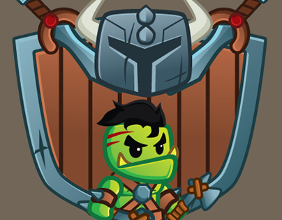 Tiny Warriors Videogame Art