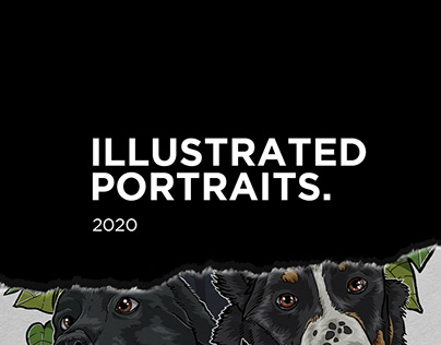 Illustrated Portraits 2020