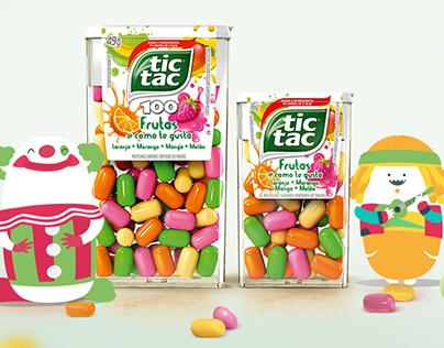 TIC TAC: Frutas Como te Gusta