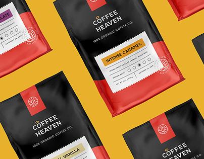 Coffee Heaven - Brand Identity & Packaging