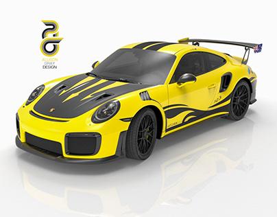 Porsche GT2RS Decal Commission 2019