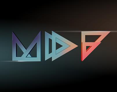 MDF Festival 2019 MUSIC.DESIGN.FORM Identity
