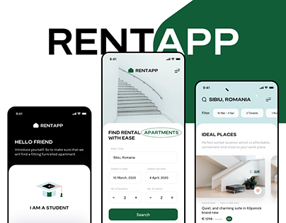Rentapp product design