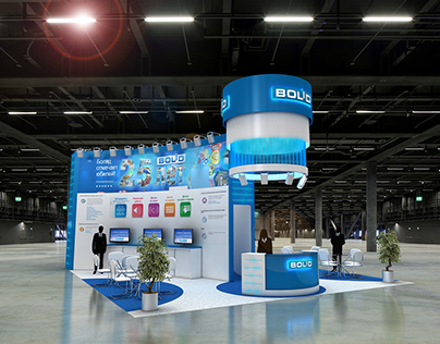Bolid exhibition stand project