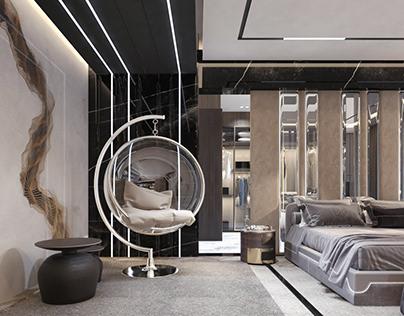 MASTER BEDROOM | CFC VILLA Location: Cairo