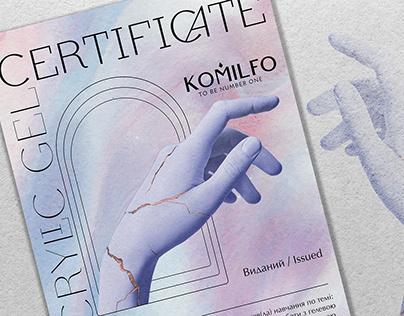Сертификат для души / Certificate for the soul