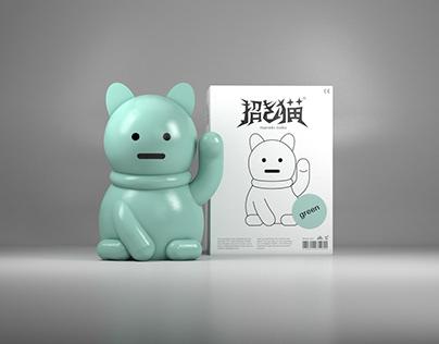 Maneki-neko Vinyl Figure