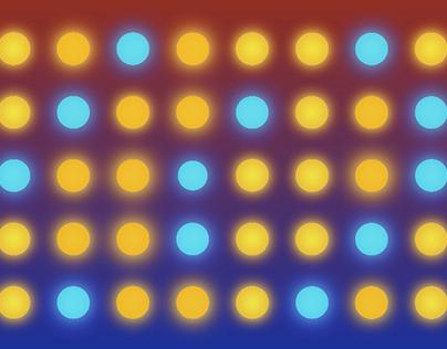 SampleImage lightning balls // Светящиеся шары