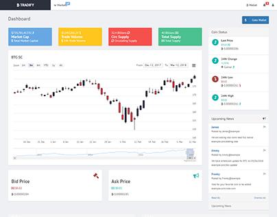 Crypt & Stock Trading UI