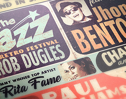 Retro Jazz 1958' Gig Poster