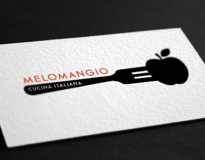MELOMANGIO Proyecto de Branding para Restaurant e Bar