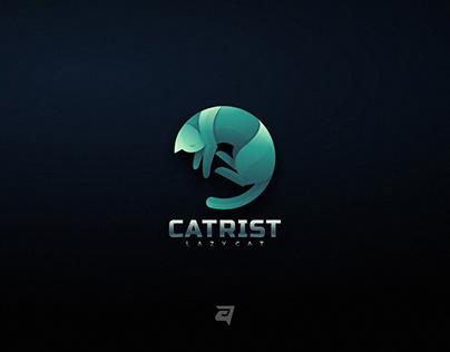 Colorful Gradient Logo Design CATRIST