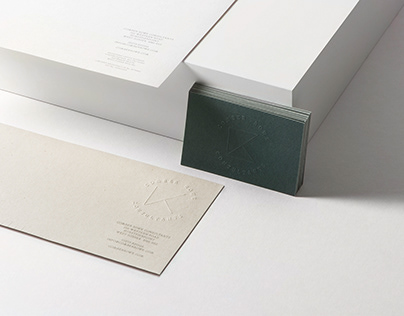 Identity and Stationery for Comber Rowe